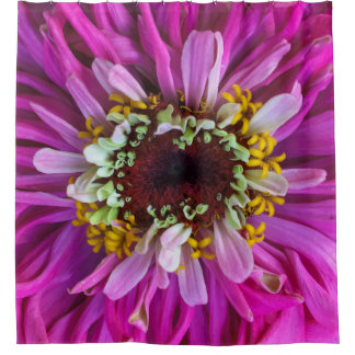 Pretty in Purple Flower Shower Curtain
