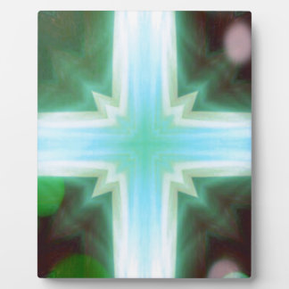 Pretty Inspirational Cross Shaped Pattern Plaque