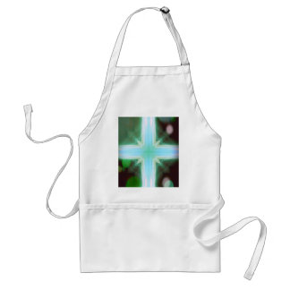 Pretty Inspirational Cross Shaped Pattern Standard Apron