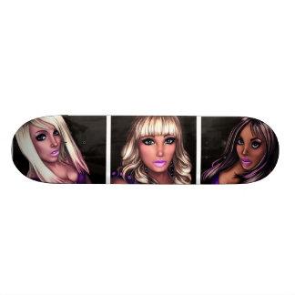 Pretty Internet Girls Skate Board Decks