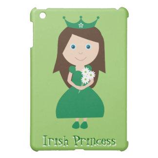 Pretty Irish Princess Cute Cartoon Character iPad Mini Cases