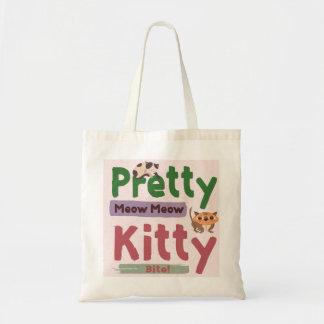 Pretty Kitty Budget Tote Bag