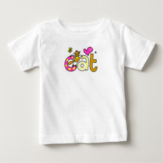 Pretty Kitty Cat Little Girl's T-Shirt