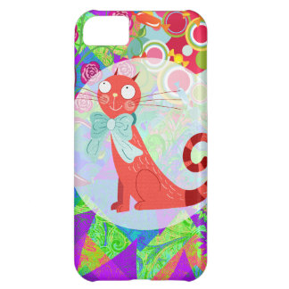 Pretty Kitty Crazy Cat Lady Gifts Vibrant Colorful iPhone 5C Case