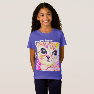 Pretty Kitty Girls Shirt