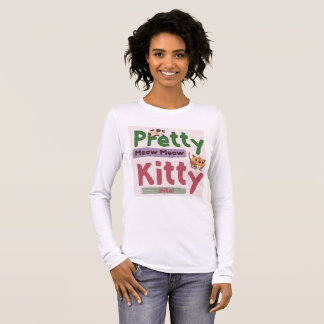 Pretty Kitty Longsleeve Women's Tee