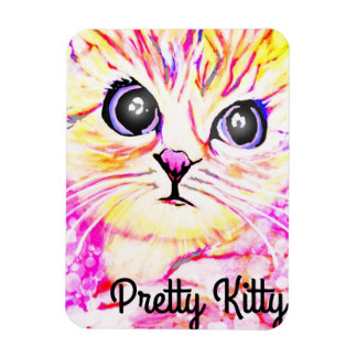 Pretty Kitty Magnet