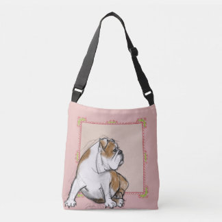 Pretty La Boca Bulldog Crossbody Bag