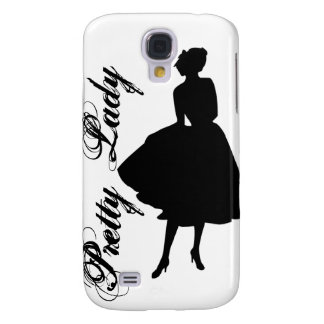 Pretty Lady Galaxy S4 Covers