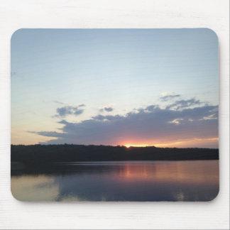 Pretty Lake Sunset Mousepad