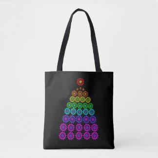 Pretty Lights Christmas Tote Bag
