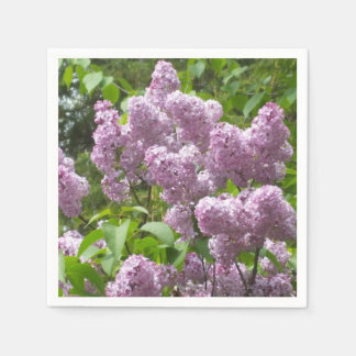 Pretty Lilacs Disposable Serviette
