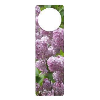 Pretty Lilacs Door Knob Hangers