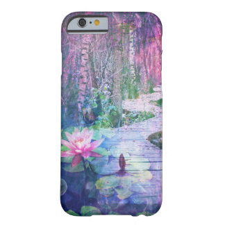 Pretty Lily Pad Fantasy Forest Bridge Case Barely There iPhone 6 Case