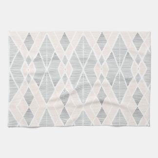 pretty lines tea towel