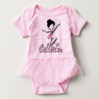 Pretty Little Ballerina Baby Bodysuit