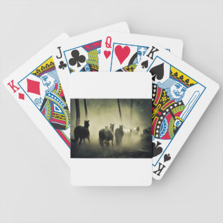 PRETTY LOOKING HORSES BICYCLE PLAYING CARDS
