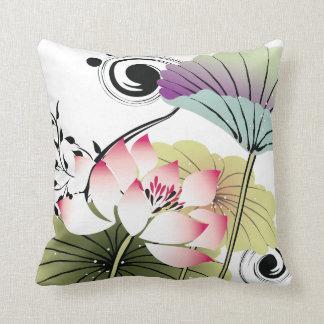 pretty lotus pillow
