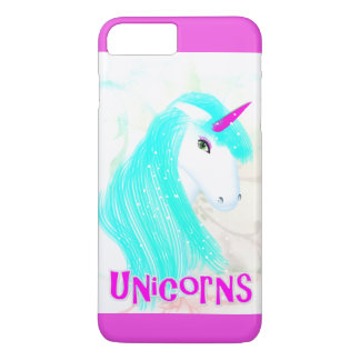 Pretty Magical Mythical Unicorn Graphic iPhone 7 Plus Case