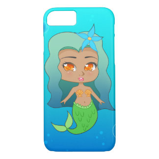 Pretty Mermaid (Coco) iPhone 7 Case