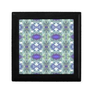 Pretty Mint Green Lavender Pastel Pattern Gift Box