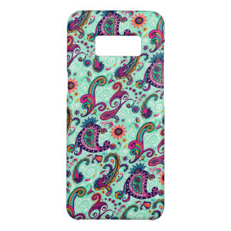Pretty Mint Paisley Case-Mate Samsung Galaxy S8 Case