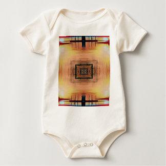 Pretty Mirror Image Lake Sunset Baby Bodysuit