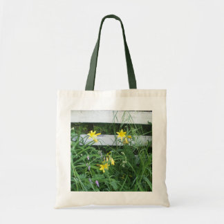 Pretty Mixed Flowers Tote Bag