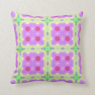 Pretty Modern Shapes Multicolor Cushion