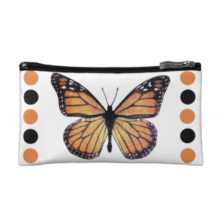 Pretty Monarch Butterfly Framed Makeup Bag