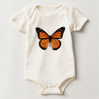 Pretty Monarch Butterfly Baby Bodysuits