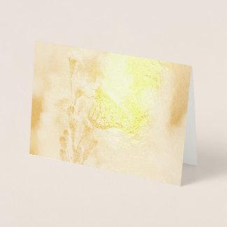 Pretty Monarch Foil Card