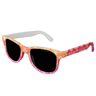 Pretty multicolored pattern sunglasses