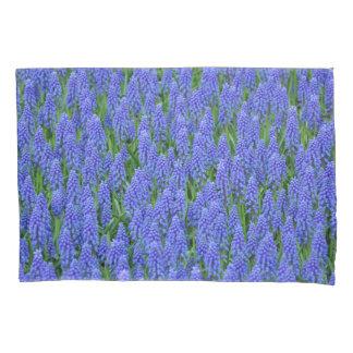 Pretty muscari flowers pillowcase
