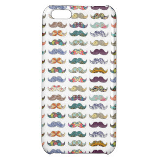 Pretty Mustaches iPhone 5C Cases
