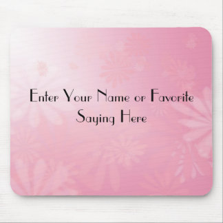 Pretty N Pink Customizable Mouse Pad