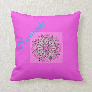 Pretty Namaste Mandala Cushion