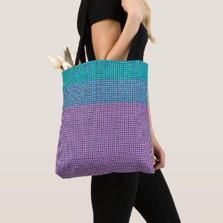 Pretty Needle Point Effect>  Patterned Tote