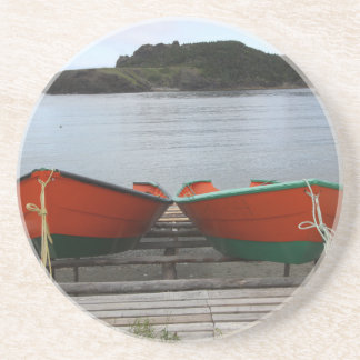 Pretty Newfoundland Boats Coaster