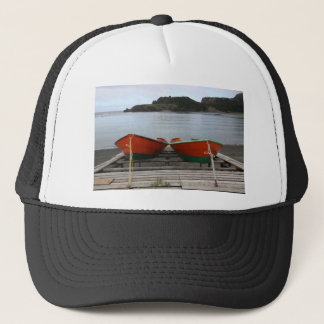 Pretty Newfoundland Boats Trucker Hat