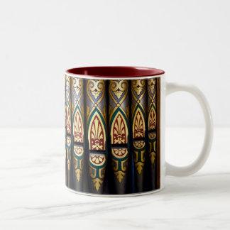 Pretty organ pipes mug