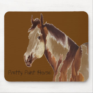 Pretty Paint Horse ~ Mousepad