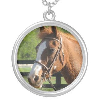 Pretty Paint Round Pendant Necklace