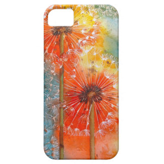 Pretty Painted Dandelion Case For The iPhone 5