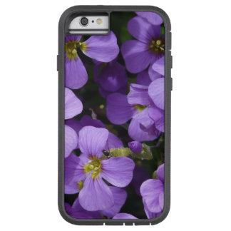 Pretty Pale Purple Flowers Tough Xtreme iPhone 6 Case