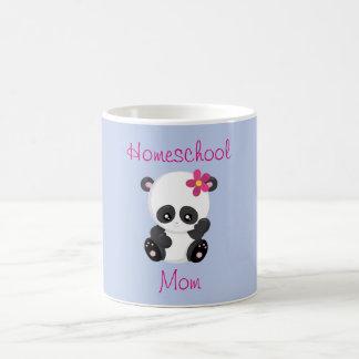 Pretty Panda Homeschool Mom Edition Coffee Mug