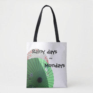 Pretty Parasol Tote Bag
