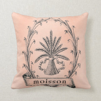 Pretty Paris French Harvest Wheat Pillow