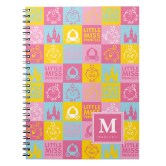Pretty Pastel Pattern | Add Your Name Spiral Notebook