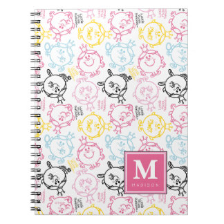 Pretty Pastels Pattern | Add Your Name Notebook